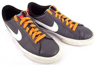 1228d0e4af2bb5 Nike Women s Shoes Sneakers Low Cut Tennis Leather Sweet Classic Gray 8M