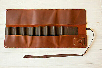 Leather Tool Roll for Wood Carving Tools Storage Multi-Use Tool Roll BeaverCraft