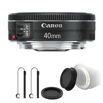 Canon EF 40mm f/2.8 STM Lens and Accessory Kit for Canon T6 , T6i and T7i