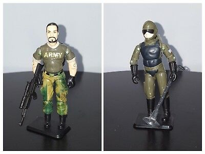 2001 Hasbro G.I. JOE Real American Hero Collection Big Brawler & Tripwire 2-Pack