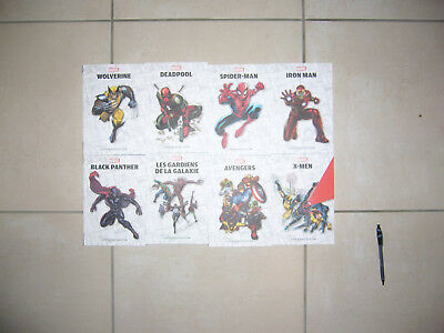 lot de 8 comics marvel super heroes collection neuf 240 pages chacun