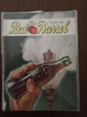 October 1941 Coca Cola Red Barrel Magazine