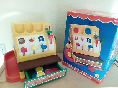 Fisher Price Vintage Kasse mit OVP