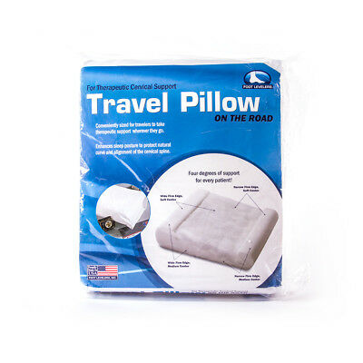 Foot Levelers PILLO-PEDIC Mini-Traveler Pillow, MADE IN THE USA