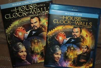 """the House With A Clock In Its Walls""  (Blu-Ray Version 2018)"