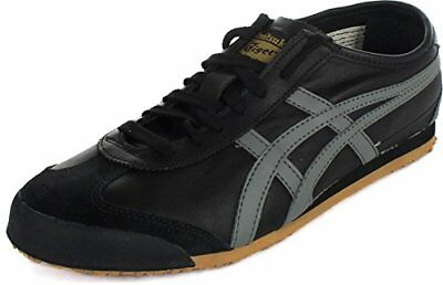 official photos 95619 2e194 ONITSUKA TIGER DL4089011 : Mexico 66 Fashion Sneaker, Black/Gray/Gold, 4 M