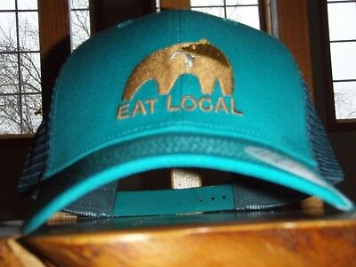 8892395cc15 PATAGONIA EAT LOCAL Upstream Lopro Trucker Hat - New With Tags ...