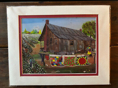 NIB Maurice Cook Alabama Artist Signed, Numbered and Matted Print
