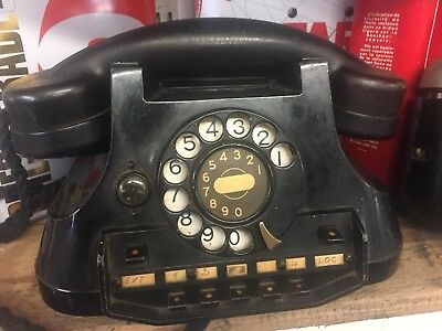 vintage antique telephone With Bell