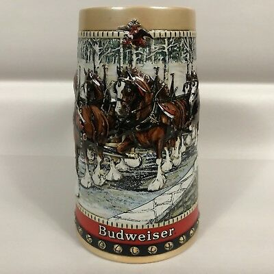 Budweiser 1988 Beer Stein Collector's Series Budweiser Clydesdales
