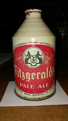 "12oz. Fitzgerald's Crowntainer ""IRTP"" Cone Top Beer Can"