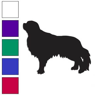 Euro Sussex Spaniel Dog Graphic Decal Sticker Car Wall Oval NOT Two Colors