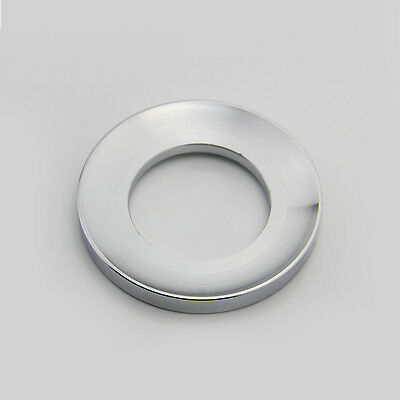Heavy Duty Brass basin Mounting Ring Sink Chrome Mount Support Drain Spacer