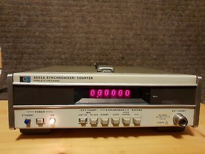 HP 8655A Synchronizer - counter 10-520 MHz