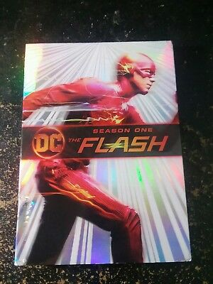 The Flash: Season One (DVD, 2018 release, 5-Disc Set with slipcover)