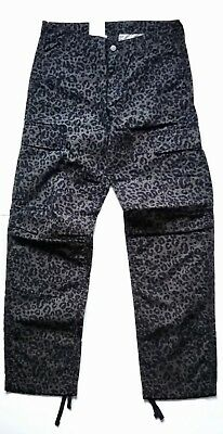 adcc226ecf42 CARHARTT WIP REGULAR CARGO PANT, PANTHER PRINT CYPRESS, W31in L32in