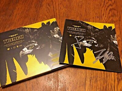 Twenty One Pilots: SIGNED TRENCH BOOKLET And Unopened Album