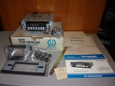 Vintage Tp 6006 Pioneer 8 Track Player New Old Stock Car Stereo