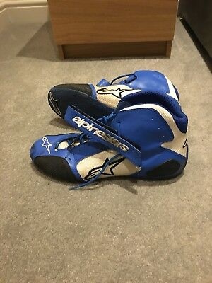 Alpinestars Tech 1-kx Karting Boots, Driving, Kart Racing Boots, F1, Race Shoes.