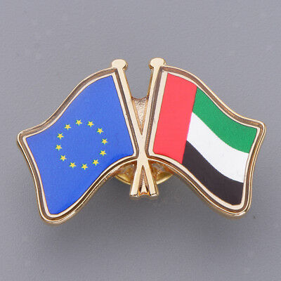 National Flag Pin Badge for Man Woman Lapel Badge Decoration Country Pride