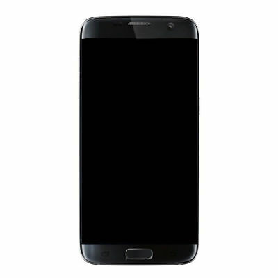 Black LCD Touch Screen Digitizer + Frame For Samsung Galaxy S7 Edge G935 G935F