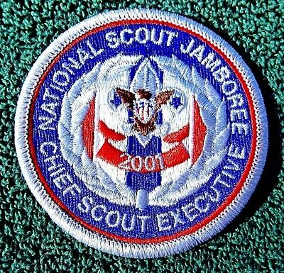 Boy Scouts Of America 2001 National Scout Jamboree Chief Scout Executive Patch