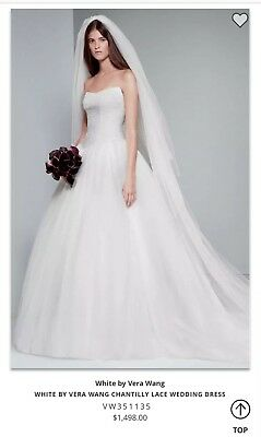 4a4b3050f8c WHITE BY VERA Wang Fall 2011 bridal collection size 6 -  51.00 ...