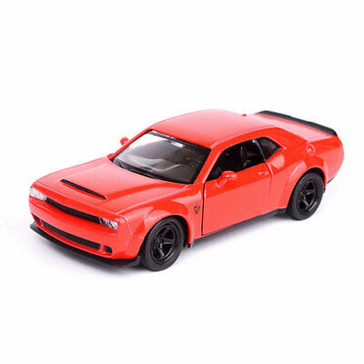 Dodge Challenger SRT Demon 1:36 Scale Car Model Diecast Gift Toy Vehicle Red Kid