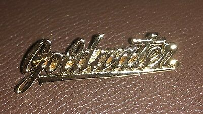 Barry Goldwater Cursive Style Name Campaign Jewelry Pinback Tie Clip