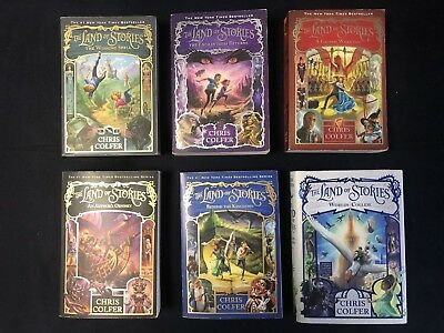 Land Of Stories 6 Book Set By: Chris Colfer