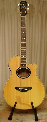 Yamaha APX-7A Electro-Acoustic Guitar with Hiscox FliteLite case