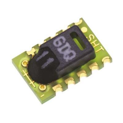 1 x Sensirion SHT11 Temperature & Humidity Sensor -40-+123.8 °C ±0.4 °C, 10-Pin