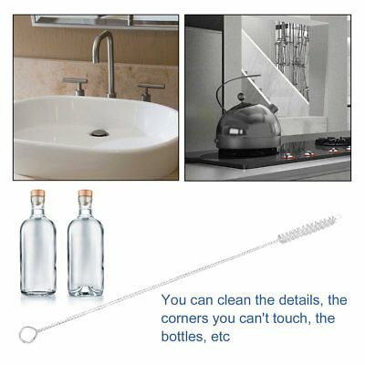 Nylon Straw Cleaners cleaning Brush for Drinking pipe stainless steel glass KQ