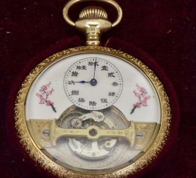 MUSEUM Mobilis minute TOURBILLON  pocket watch  掛表 挂表 for Emperor Pu Yi of China