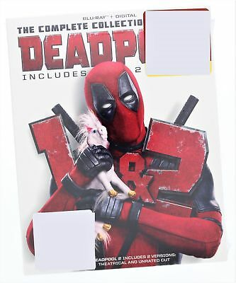 Deadpool The Complete Collection(For Now) Includes 1,2 Blu-ray/Digital 2018 Rat