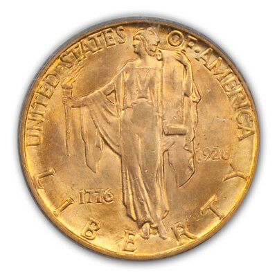 SESQUICENTENNIAL 1926 $2.50 Gold Commemorative PCGS MS64