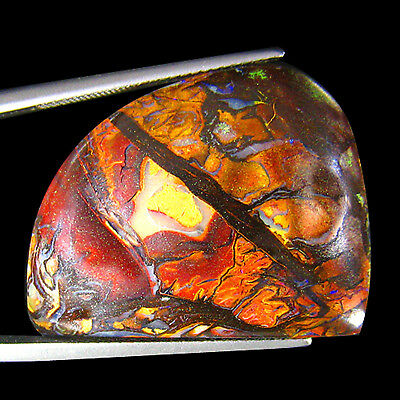 36.96 Ct  MATRIX DESIGN PICTURE KOROIT BOULDER OPAL
