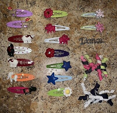 19 Gymboree Hair Clips ~ Hair Curlies ~ From Multiple Lines