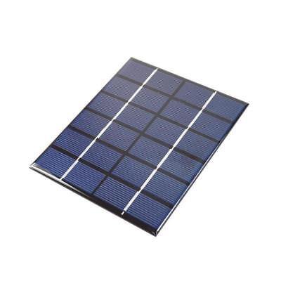 2W12V Polycrystalline Solar Panel DIY Mini Solar Battery Charger  LED for Phone