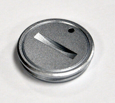 New Olympus Om-1 Battery Cap Cover Silver Om1