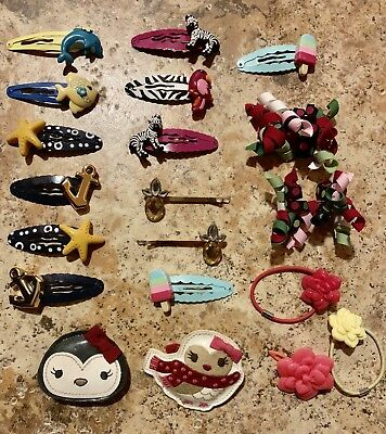 20 Gymboree Hair Clips ~ Hair Curlies ~ From Multiple Lines