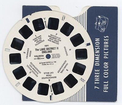 ENGLAND The Lake District II Viewmaster Reel 1071 Mint Condition