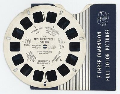 ENGLAND The Lake District I 1958 Viewmaster Reel 1070