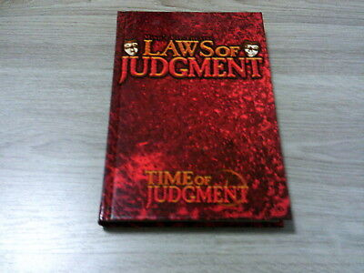 Mind's Eye Theatre Laws of Judgment Time Of Judgment HC White Wolf 2004 EX