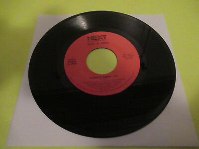 "Salt N Pepa Push It / Tramp 7"" 45  Ex"