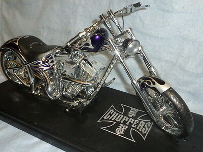 West Coast Choppers Motorcyle Diecast With Stand