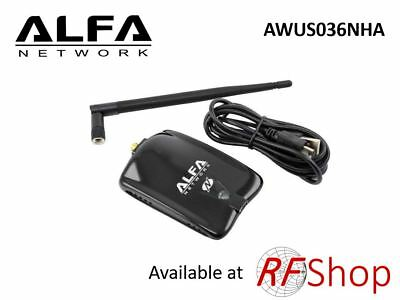 Long Range USB Adapter AWUS036NHA 802.11n speed booster(Available on Back Order)