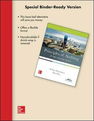 Principles of Auditing and Other Assurance Services TEST BANK only