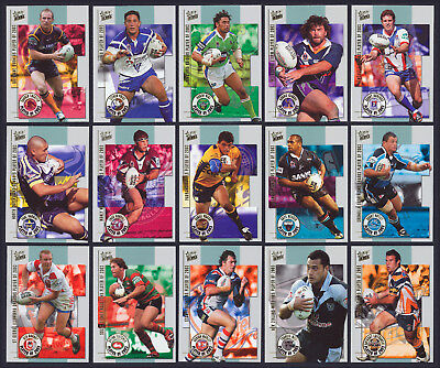 2003/04 Select NRL Club Player of 2003 Insert Set of 15 Cards