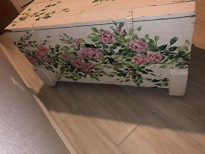 Hope Chest Antique Hand Painted